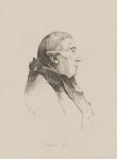 Dominic Serres, by William Daniell, after  George Dance - NPG D40648