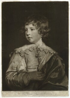 Lord George Seymour Conway, by and published by Edward Fisher, after  Sir Joshua Reynolds - NPG D40652