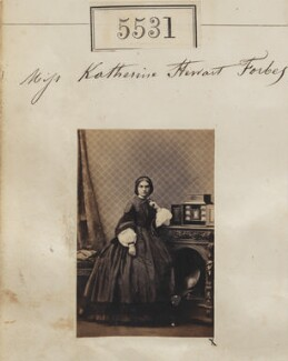 Katherine Stewart Forbes, by Camille Silvy - NPG Ax55488