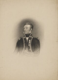 Sir Michael Seymour, 1st Bt, by Henry Richard Cook, after  James Northcote - NPG D40655