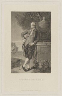 Harbord Harbord Suffield, 1st Baron Suffield, by Robert Bowyer Parkes, published by  Henry Graves, after  Thomas Gainsborough - NPG D40894