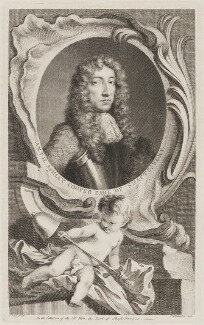 Anthony Ashley-Cooper, 1st Earl of Shaftesbury, by Jacobus Houbraken, after  Sir Peter Lely - NPG D40658