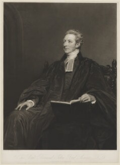 John Bird Sumner, by Samuel Cousins, after  Margaret Sarah Carpenter - NPG D40905