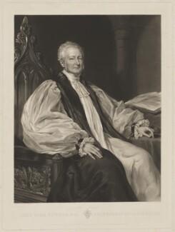John Bird Sumner, by John Richardson Jackson, published by  Henry Graves & Co, after  Margaret Sarah Carpenter - NPG D40906