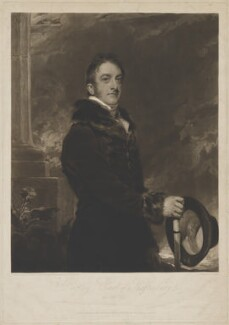 Cropley Ashley-Cooper, 6th Earl of Shaftesbury, by and published by Charles Turner, after  Sir Thomas Lawrence, published 20 September 1812 (1810) - NPG D40661 - © National Portrait Gallery, London
