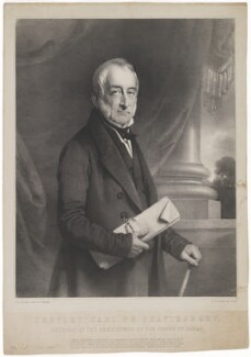 Cropley Ashley-Cooper, 6th Earl of Shaftesbury, by Charles Baugniet, printed by  M & N Hanhart - NPG D40662
