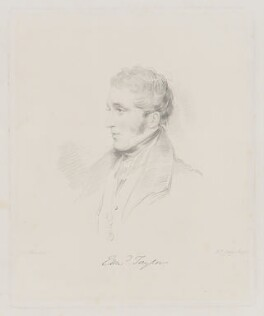 Edward Clough Taylor, by Frederick Christian Lewis Sr, after  Joseph Slater - NPG D40837