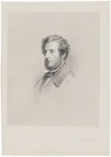 Anthony Ashley-Cooper, 7th Earl of Shaftesbury, by W. Joseph Edwards, published by  Henry Graves & Co, after  Frederick Sandys - NPG D40664