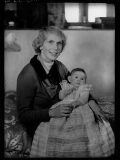 Lady Margaret Drummond-Hay (née Douglas-Hamilton); Elizabeth Ann Drummond-Hay, by Bassano Ltd - NPG x155074
