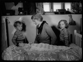Lady Margaret Drummond-Hay (née Douglas-Hamilton) with her children, by Bassano Ltd - NPG x155075