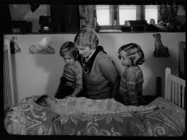 Lady Margaret Drummond-Hay (née Douglas-Hamilton) with her children, by Bassano Ltd - NPG x155076