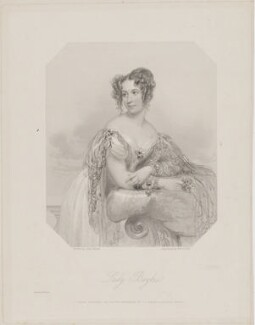 Emily Henrietta Boyle (née Seymour), Countess of Shannon when Lady Boyle, by William Holl Jr, and by  Francis Holl, printed by  McQueen (Macqueen), published by  T.G. March, after  John Hayter - NPG D40669