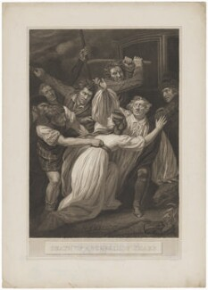 'Death of Archbishop Sharp' (James Sharp), by Thomas Holloway, published by  Robert Bowyer, after  John Opie - NPG D40672
