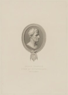 George Granville Leveson-Gower, 1st Duke of Sutherland, by Edward Scriven, after  Henry Corbould, after  John Francis - NPG D40923