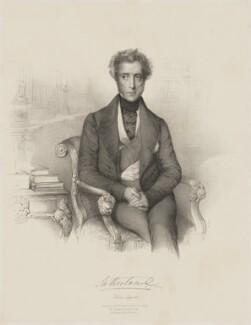 George Granville Sutherland-Leveson-Gower, 2nd Duke of Sutherland, by Émile Desmaisons, printed by  Lemercier, published by  A.H. & C.E. Baily - NPG D40924