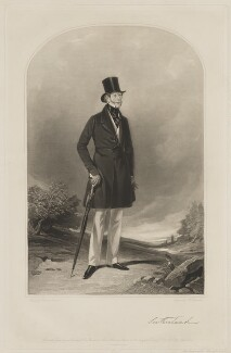 George Granville Sutherland-Leveson-Gower, 2nd Duke of Sutherland, by Samuel William Reynolds, printed by  Brooker & Harrison, published by  Thomas Agnew, and published by  Ackermann & Co, and published by  Anaglyphic Company, after  Richard Ansdell - NPG D40925