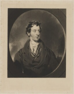 George Granville Sutherland-Leveson-Gower, 2nd Duke of Sutherland, by Samuel William Reynolds Jr, and by  William Walker, after  Sir Thomas Lawrence, (circa 1824) - NPG D40926 - © National Portrait Gallery, London