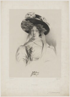 Elizabeth Sutherland, Duchess of Sutherland, by Francis William Wilkin, printed by  Graf & Soret - NPG D40931