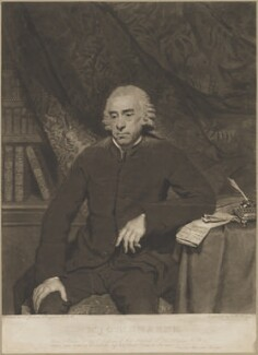 Joshua Sharpe, by Charles Howard Hodges, after  Sir Joshua Reynolds - NPG D40676