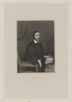 Jeremy Taylor, by Charles Warren, after  Unknown artist - NPG D40841