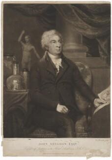 John Sheldon, by William Barnard, published by  Elizabeth Walker, after  John Keenan - NPG D40690