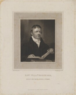William Shepherd, by Robert William Sievier, published by  William Johnstone White, after  Moses Haughton the Younger - NPG D40696