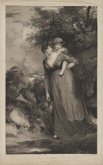 Esther Jane Sheridan (née Ogle); Charles Sheridan, by and published by Thomas Nugent, after  John Hoppner - NPG D40702