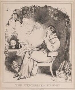 The Winchelsea Hermit (Arthur Wellesley, 1st Duke of Wellington; George William Finch-Hatton, 10th Earl of Winchilsea), by John ('HB') Doyle, published by  Thomas McLean - NPG D40941