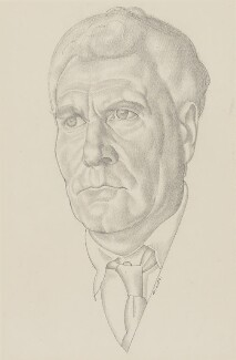 Theodore Francis Powys, by William Roberts - NPG 6910
