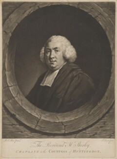 Walter Shirley, by John Dixon, after  Robert Edge Pine - NPG D40708