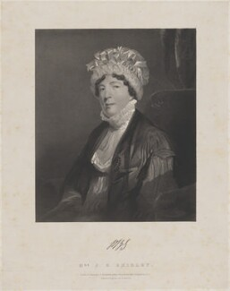Phillis Bryan Shirley, by John Samuelson Templeton, printed by  Engelmann, Graf, Coindet & Co, after  John Jackson - NPG D40709