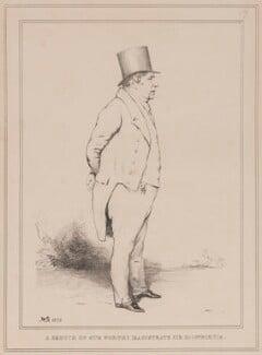 Sir Richard Birnie ('A Sketch of our Worthy Magistrate Sir Richd. Birnie'), by John ('HB') Doyle - NPG D40954