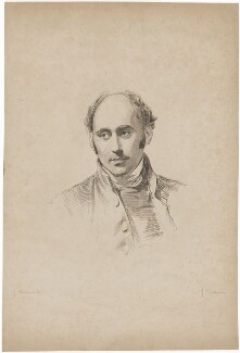 Augustus Short, by James Thomson (Thompson), after  George Richmond - NPG D40713