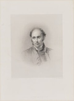 Augustus Short, by James Thomson (Thompson), published by  Joseph Hogarth, after  George Richmond - NPG D40714