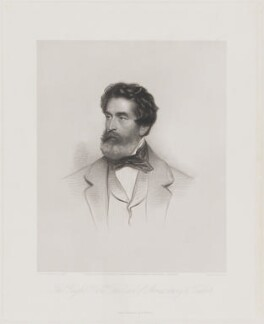 Henry John Chetwynd-Talbot, 18th Earl of Shrewsbury, 11th Earl of Waterford and 3rd Earl Talbot, by William Henry Mote, published by  Henry Graves & Co, published by  R. & W. Wright, after  Anthony de Solomé - NPG D40715