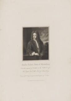 Charles Talbot, 1st Duke of Shrewsbury, by John Cochran, published by  Harding & Lepard, after  William Derby, after  Sir Godfrey Kneller, Bt, published 1 January 1831 - NPG D40717 - © National Portrait Gallery, London
