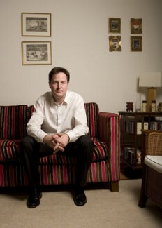 Nick Clegg, by Richard Saker, 14 May 2009 - NPG  - © Richard Saker