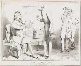 The Vindication, by John ('HB') Doyle, published by  Thomas McLean - NPG D40966