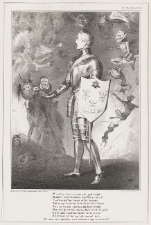 Sir Robert Peel, 2nd Bt, by John ('HB') Doyle, printed by  Ducôte & Stephens, published by  Thomas McLean - NPG D40971