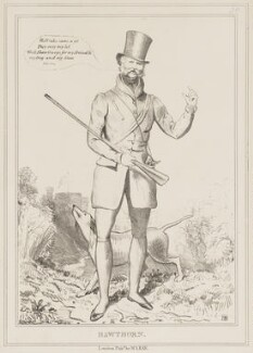 Hawthorn (Ernest Augustus, Duke of Cumberland and King of Hanover), by John ('HB') Doyle, published by  Thomas McLean - NPG D40973