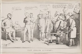 New Police Activity, by John ('HB') Doyle, published by  Thomas McLean - NPG D40980