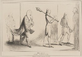 Make Way for the Speaker, by John ('HB') Doyle, published by  Thomas McLean - NPG D40981