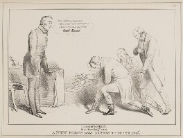 A New Farce called a County Meeting, by John ('HB') Doyle, published by  Thomas McLean - NPG D40985