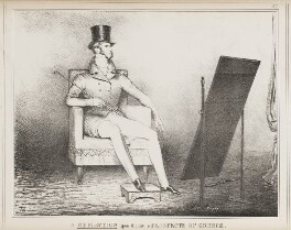 Leopold I, King of the Belgians ('A Reflection upon the future Prospects of Greece'), by John ('HB') Doyle, published 22 February 1830 - NPG D40986 - © National Portrait Gallery, London
