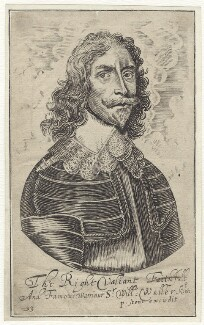 Sir William Waller, published by Peter Stent - NPG D40732
