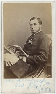 Prince Alfred, Duke of Edinburgh and Saxe-Coburg and Gotha, by William Bradley - NPG x134828