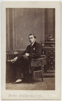 Prince Alfred, Duke of Edinburgh and Saxe-Coburg and Gotha, by Unknown photographer - NPG x134827