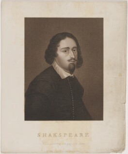 William Shakespeare, by Robert Cooper, published by  Machell Stace - NPG D40743