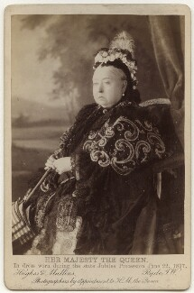Queen Victoria, by Hughes & Mullins - NPG Ax13953