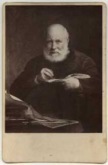 Sir George Scharf, by Henry Dixon & Son, after  Walter William Ouless - NPG Ax134834